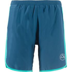 La Sportiva Zen - Pantalones cortos running Mujer - azul/Turquesa